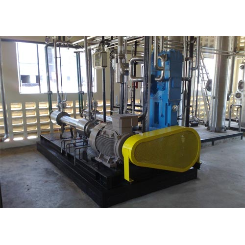 Bio Gas Plant With CO2 Recovery