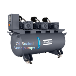 Oil Sealed Vane Pump