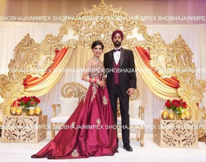 Royal Crown Wedding Stage