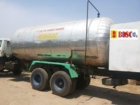 Liquid CO2 Storage Tanks