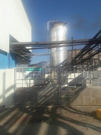 Vertical CO2 Storage Tank