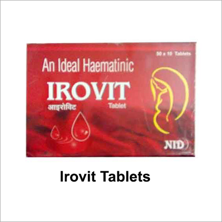 IROVIT CAPSULE AND TABLET