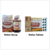 NIDLAX SYRUP, CAPSULE, TABLET AND POWDER