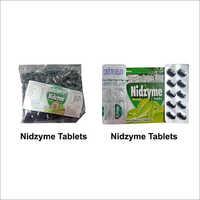 NIDZYME SYRUP, CAPSULE, TABLET, DROPS