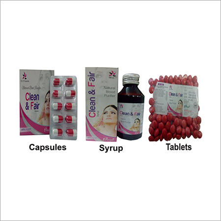 CLEAN AND FAIR SYRUP, CAPSULE AND TABLETS