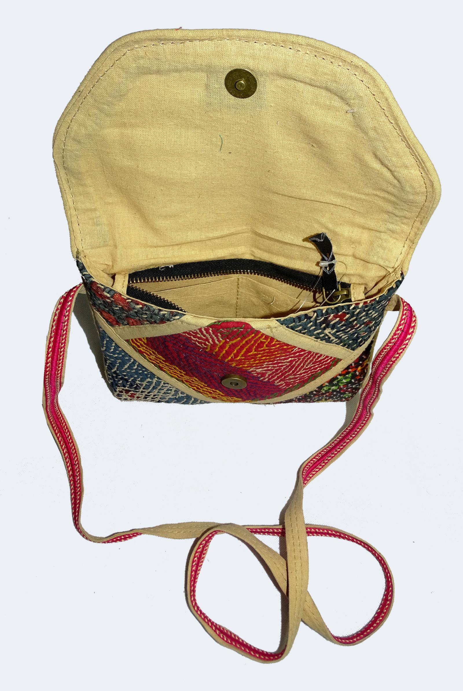 Hedrabadi Cotton Kantha Bags