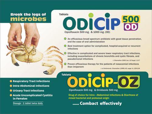 Ciprofloxacin 500 mg & 1000 mg