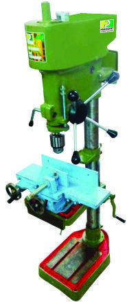 Drill Machine with Slide Attachment