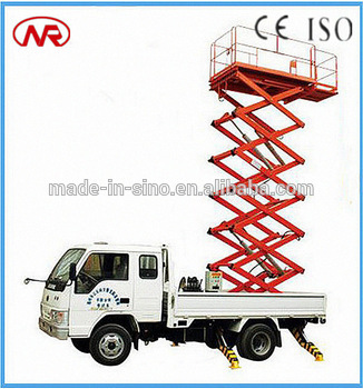 cherry picker and scissors lift