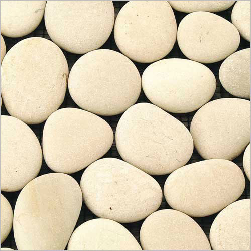 River White Pebble Stones for Landscaping