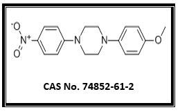 1-(4-Methoxyphenyl)-4-(4 -nitrophenyl) piperazine    (IT - 1)