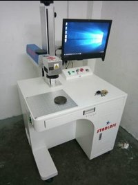 Name Plate Laser Marking Machine