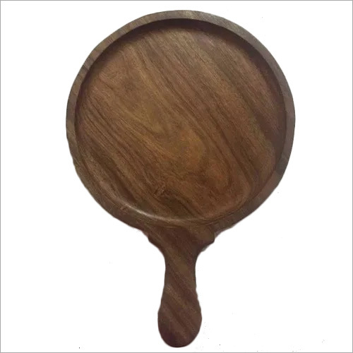 Wooden sizzler plate