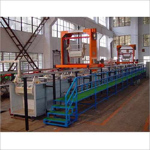 Automatic Electroplating Barrel Plant