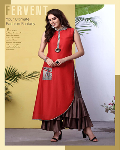 Ladies Sleeveless Kurti