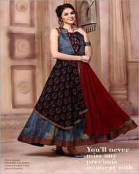 Ladies Long Flared Kurti