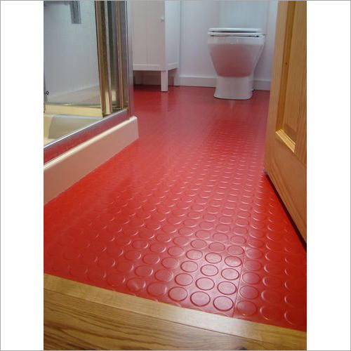 Red Rubber Flooring
