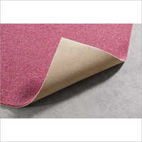 Pink Synthetic Floor Carpet
