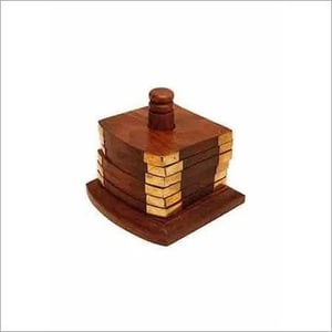 Wooden Coasters ( set of 6)
