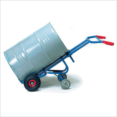Four wheeler Drum Trolley