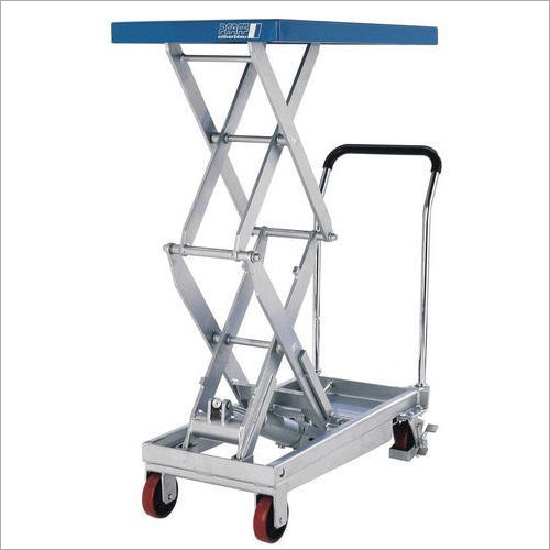 Hydraulic Scissor Lifting Trolley
