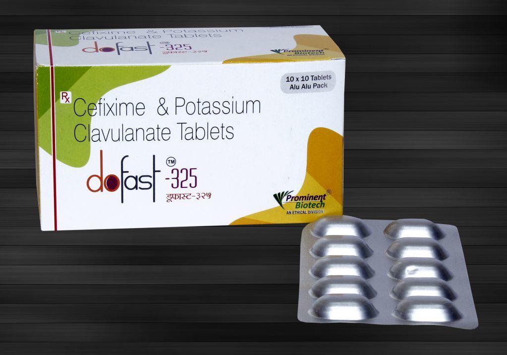 Cefixime 200 mg & Clavulanic Acid 125 mg