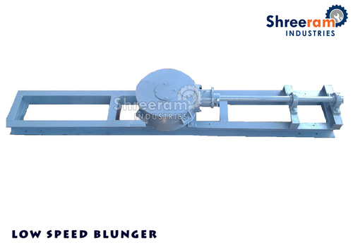 Industrial Low Speed Blunger Machine