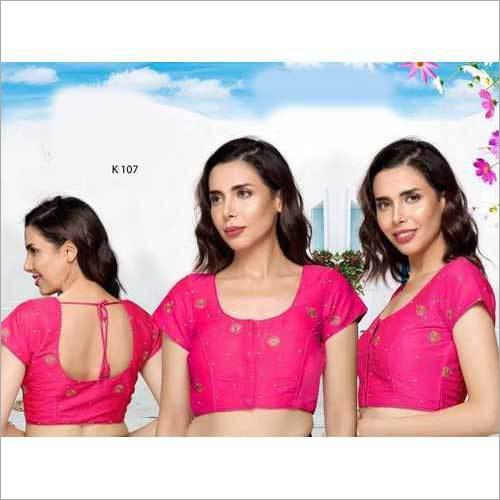 Ladies Pink Dori Blouse