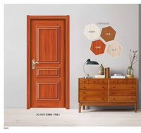 MDF with melamine attractive and classic moulded door for interior