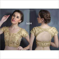 Ladies Mega Sleeve Embroidered Blouse