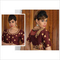 Ladies Heavy Embroidered Designer Blouse