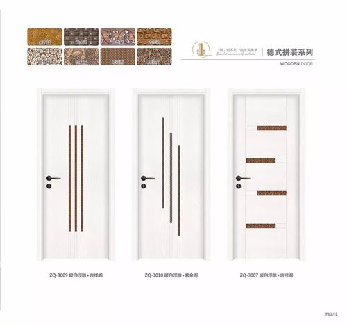 Interior wooden moulding toilet door