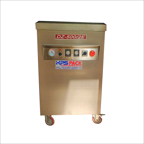 Vacuum pouch packing machine