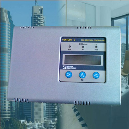 Carbon Dioxide Monitor and Controller