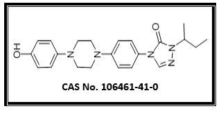 2,4-Dihydro-4-[4-[4-(4-hydroxyphenyl]-1-piperazinyl]-phenyl]-2-(1-methylpropyl)-3H-1,2,4-triazol-3-one  (IT - 7)