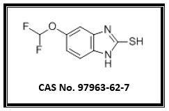 5-Difluoromethoxy-2-mercapto -1H-benzimidazole