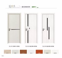 Moulded Sliding folding wooden single door designs