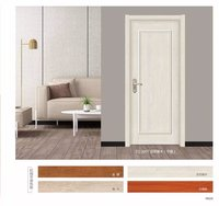 Hot selling solid core moulded smooth caiman interior door