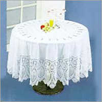 Crochet White Tablecloth