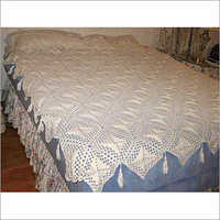 Crochet Diamond Tassel Bed Cover