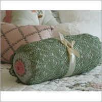 Crochet Bolster Cover