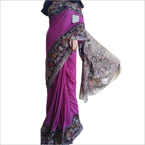 Ladies Kalamkari Printed Saree