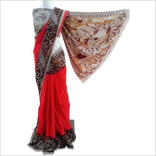Lightweight Kalamkari Printed Saree