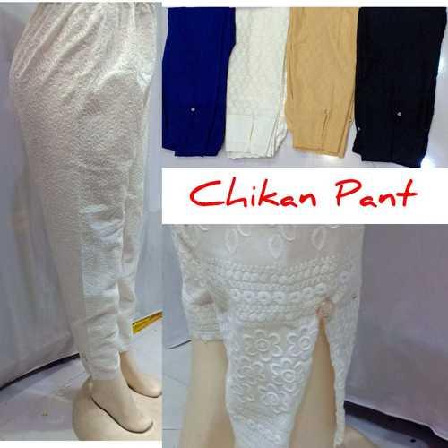 Chikan Pant