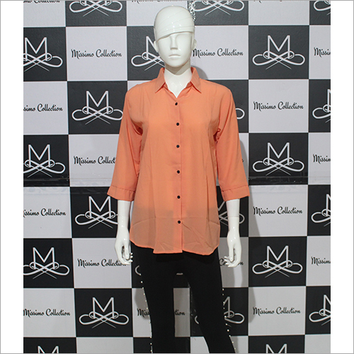 Women Orange Shirt