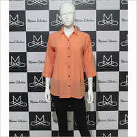 Women Orange Shirt