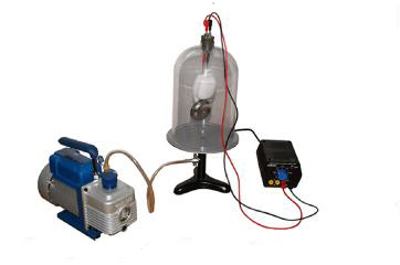 Vacuum Bell With Integrated Pump