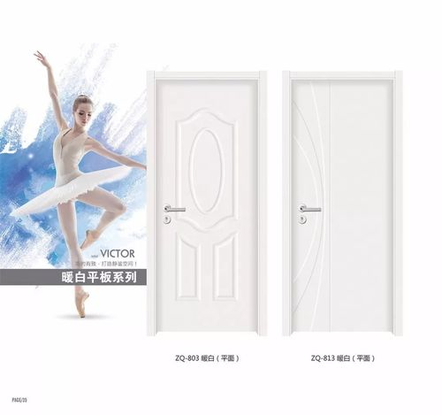 MDF Interior HDF Molded Door White Primer Door