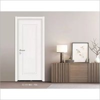 pvc wooden apartment white primer moulded doors for sale