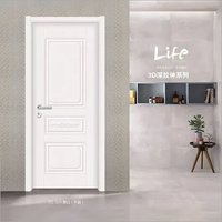 Manufacturer cheap price interior hollow MDF moulded door